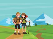 Women,Hiking,Mountain,Vacations,Summer,Tourist,Adventure,Activity,Nature,People,Family,Husband,Holiday,Men,Weekend Activities,Business,Outdoors,Walking,Day,Backgrounds,Tree,Vector,Searching,Boys,Wife,Backpack