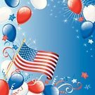 Fourth of July,Firework Display,Patriotism,Balloon,Backgrounds,Party - Social Event,Pyrotechnics,Confetti,American Flag,Poster,USA,Celebration,American Culture,Election,Vector,Streamer,Star Shape,Holiday Backgrounds,Parties,Vector Backgrounds,Holiday,Illustrations And Vector Art,Holidays And Celebrations