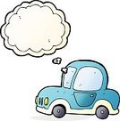 Cheerful,Doodle,Bizarre,Clip Art,Drawing - Activity,Illustration,Vector,freehand,Thought Bubble,Cute,Car