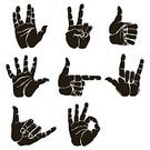 isolared,Direction,Welcome,People,Image,Symbol,Sign,Human Body Part,Pencil,Moving Up,Gun,Directional Sign,Outline,Thumb,UFO,Cursor,Illustration,Index Finger,Hello,Vector,Collection,Icon Set,Gesturing,Pointing,Handshake,OK Sign,Shaka Sign
