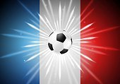 Horizontal,France,No People,Sport,Flag,Digitally Generated Image,Ball,Soccer,Drawing - Art Product,Illustration,Soccer Ball
