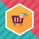 Cargo Container,Equipment,Convenience,Push Cart,shopping-cart,Shopping Cart,Cable Car,Retail,Vector,Business,Store,Basket,Illustration