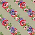 Illustration,Drawing - Activity,Seamless,Backgrounds,Pink Color,Floral Pattern,Red,Pattern