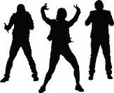 Boys,Art,Nightclub,Popular Music Concert,Silhouette,Dancer,Dancing,Music,dynamics,Young Adult,Teen Pop,Hip Hop,The Human Body,Vector,Rock Music,Youth Culture,Sound,Equipment,Rap,People,Illustration,Males,Outline,Party - Social Event,Disco Dancing