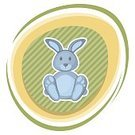 Humor,Computer Graphics,Carrot,Animal,Cute,Cheerful,Mammal,Vegetable,Illustration,Nature,Leaf,Symbol,Food,Joy,Easter,Computer Graphic,Pets,April,Gift,Small,Hare,Fun,Vector,Blue,Smiling,Holding