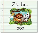 Elementary Age,Educaitonal,phonetics,Learning,Computer Graphics,Animal Wildlife,Animal,Spelling,Letter Z,Mammal,Handwriting,Alphabet,Illustration,Nature,Zoo,Image,Reading,Computer Graphic,Clip Art,Forest,Cardboard,Preschool,Giraffe,Lion - Feline,Vector,Flash Card,Preschool Building