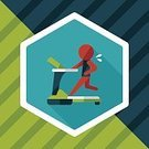 Sweat,Sport,Slim,Symbol,Treadmill,Walking,Vector,Domestic Room,Frequency,Illustration,Healthcare And Medicine,Lifestyles,Loss,Overweight,Muscular Build,Activity