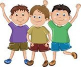 Child,Teenager,Friendship,Togetherness,Childhood,Freedom,Teamwork,Boys,Group Of People,Cute,Cheerful,Illustration,People,School Children,Joy,Happiness,Smiling