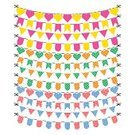 Bunting,Blue,Greeting Card,Carnival,Celebration,Birthday,Banner,Vector,Set,Party - Social Event,Holiday,Anniversary,Christmas,Orange Color,Hanging,Red,Triangle Shape,Yellow,Green Color,Flag,Multi Colored,Decoration,Event,Traditional Festival,Celebration Event