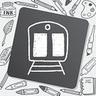 Creativity,Computer,Sign,Business,Illustration,Drawing - Activity,Vector,Doodle,Backgrounds,People,Transportation,Commuter,Train,Scribble,Symbol,Computer Graphic,Pattern