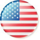 Flag,USA,Push Button,American Flag,Interface Icons,Symbol,Vector Icons,Illustrations And Vector Art,National Flag,Ilustration,Vector