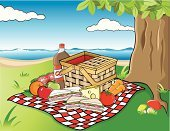 Picnic,Picnic Basket,Basket,Sandwich,Beach,Tablecloth,Summer,Vegetable,Day,Fruit,Apple - Fruit,Tree,Tomato,Food And Drink,Nature,Summer,Fruits And Vegetables,cola bottle,Cheese,Orange - Fruit,Carrot,Water,Grass