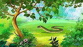 No People,Nature,Animal,Beauty In Nature,Outdoors,full color,Slow Worm,fragilis,Motion Graphic,Backgrounds,Zoo,anguis,blindworm,legless,Worm,Wildlife,Reptile,Summer,Jason Day - Actor,Small,Multi Colored