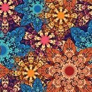 Flower,Turkey - Middle East,Vector,Textile,Henna Tattoo,Decoration,Single Flower,Motivation,African Descent,Asian and Indian Ethnicities,Collection,Drawing - Art Product,Ottoman Empire,Arabic Style,Circle,Part Of,East Asian Culture,Backgrounds,template,Design Element,Mandala,Ornate,Islam,Pattern,Indian Culture,Old-fashioned,Seamless