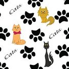 Shape,Wildlife,Feline,Paw,Colors,Whisker,Computer Graphic,Domestic Cat,breeds,Silhouette,Design,Animal,Pets,Standing,Pattern,Backgrounds