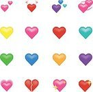 Emotion,Love,Romance,Joy,Symbol,Sign,Shiny,Positive Emotion,Cheerful,Internet,Backgrounds,Computer Icon,Heart Shape,Figurine,Cut Out,Valentine's Day - Holiday,Abstract,Illustration,Emoticon,Vector,Vibrant Color,Web Page,Background,Single Object,Ui,81352,Icon Set
