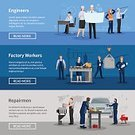 People,Women,Infographic,Office,Factory,Vector,Organization,Manager,Repairman,Lignt,Maintenance Engineer,Work Tool,Heavy,Industry,Business,Manufacturing,Control,Horizontal,Machinery,Conveyor Belt,Illustration,Banner,Ornate,Design Element,Mechanic,Collection,Manual Worker,Professional Occupation,Surveillance,Merchandise,Equipment,Label,Packing,Men,Operator,Warehouse,Flat,Uniform,Sale,Set,template,Engineer,Plan,Backgrounds,Commercial Sign