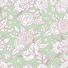 Flower,Floral Pattern,Leaf,Seamless,Green Color,Gypsy,Part Of,Vector,hand drawn,Nature,Design Element,Decoration,Pattern,Botany,Summer,Composition,Bouquet,Symbol,Backgrounds,Blossom,Illustration,Drawing - Art Product,Poppy,Repetition,Ranunculus