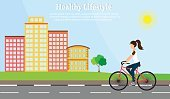 Walking,Women,Lifestyles,Sport,Freshness,Healthy Lifestyle,Vector,Parking,Design,Backgrounds,Symbol,Summer,Computer Graphic,Healthy Eating,Dieting,Town,Activity,Healthcare And Medicine,Body Care,Vegetable,Sports Training,Cycling,Beauty,Landscape,Flat,Springtime,Equipment,Sky,Green Color,Tree,People,Girls,Abstract,Illustration,Environment,Exercising,Morning,Watermelon,Beauty Treatment,Athlete,Nature,Running,Bicycle,City