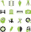 Hat,Industrial,Industry,Equipment,Surveillance,Sign,Technician,Machinery,Wrench,Construction Industry,Occupation,Engineering,Icon Set,habiliment,Computer Icon,Symbol,Working,Illustration,Vector,Engineer