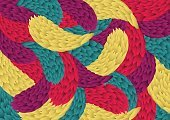 Illustration,Ornate,Modern,Decoration,Vibrant Color,Pattern,Backgrounds,Abstract,Vector,Multi Colored