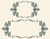 Frame,Ornate,Floral Pattern,Victorian Style,Scroll Shape,Vector,Gothic Style,Swirl,Art Nouveau,Leaf,Curve,Abstract,Art Deco,Modern,Ilustration,Backgrounds,Intertwined,Squiggle,Blank,Twisted,Curled Up,No People,Copy Space,Vector Ornaments,Vector Backgrounds,Empty,Illustrations And Vector Art,Vector Florals