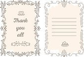Decoration,Ornate,Decor,Drawing - Activity,Computer Graphic,Swirl,Invitation,Friendship,Thanksgiving,Creativity,template,Fashion,All - Laundry Detergent,Event,Plan,Admiration,you,Thank You,Greeting,Cute,Elegance,Tranquil Scene,Lace - Textile