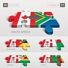Country - Geographic Area,Colors,Earth,Travel,Infographic,Business Travel,Three-dimensional Shape,Confusion,Africa,The Americas,Flag,Map,Puzzle,Cartography,Angle,Part Of,template,Isolated,Group of Objects,Data,Presentation,Jigsaw Puzzle,Pattern,Savings,Symbol,Backgrounds,Togetherness,Connection,White,Concepts,Canada,Teamwork,continent,Color Image,World Map,Cultures,Set,Sovereignty,Three Dimensional,Mozambique,Zambia,Zambian Culture,Zimbabwean Culture,Zimbabwe,Madagascar,Madagasy Culture,Abstract,South Africa,Modern,Illustration,Design Element,Advice,Single Object,Information Medium,Design,Investment,Computer Icon,Business,Connect,Creativity,Ideas,Straight