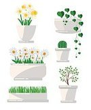 Flower,Formal Garden,Blossoming,Blossom,Variegated,Collection,Cartoon,Cactus,Computer Graphic,House,Potted Plant,Style,Tree,Planting,Office,Computer Icon,Indoors,Leaf,Backgrounds,White,Tropical Climate,Exoticism,Plant,Single Flower,Part Of,Drawing - Art Product,Decoration,Pattern,Design Professional,Design,Multi Colored,Flower Pot,Set,Summer,Vector,Palm Tree,Nature,Houseplant,Illustration,Isolated,Green Color
