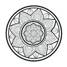 Illustration,Shape,Backgrounds,Abstract,Isolated,Drawing - Art Product,Deco,Circle,Vector,Design Element,Meditating,Black Color,Harmony,Indigenous Culture,Motivation,Curve,Mandala,Decoration,Flower,East,Composition,Pattern,East Asia,East Asian Culture,Tracery,Symbol,Retro Styled,Ornate,Posing,Print,White,Spotted,Invitation,Frame,Paper,Computer Graphic,Decor