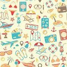 Pattern,Beach,Flip-flop,Luggage,Backgrounds,Anchor - Vessel Part,Seamless,Ice Cream,Currency,Computer Icon,Passport,Directional Sign,Wallet,Textured Effect,Deck Chair,Starfish,Sun,Tree,Umbrella,Reclining Chair,Reclining,Label,Buoy,Travel Destinations,Island,Vacations,Tropical Climate,Nautical Vessel,Travel,Bag,Repetition,Swimwear,Sunglasses,Ticket,Air Vehicle,Map,Camera - Photographic Equipment,Animal Shell,Road Sign,Palm Tree,Season,Summer,Tourism,Journey,Vector,Cocktail,Mask - Disguise,Underwater Diving,Ball
