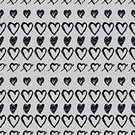 Decoration,Symbol,Repetition,Backdrop,Textile,Fashion,Shape,Heart Vector,Black And White,Drawing - Activity,Abstract,Computer Graphic,Day,Ornate,Romance,seamless pattern,Love,Backgrounds,Illustration,Pattern,Seamless,Vector,Doodle