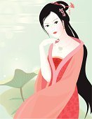 Chinese Ethnicity,Women,China - East Asia,Teenage Girls,Chinese Culture,Ancient,Thinking,Vector,Sitting,Beauty,The Past,Beautiful,Beauty In Nature,Jewelry,People,Evening Gown,Purity,Portrait,Poet,Innocence,Softness,Female,Pink Color,Water,Dreamlike,Fine Art Portrait,Affectionate,Pastel Colored,Black Hair,People,Ornate,Wind,Smiling,Nature,Beauty And Health,Harmony,Femininity,Fashion,Light - Natural Phenomenon,Lake,Bleached,Perfection,Enjoyment