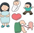 People,Simplicity,Illustration,Delivering,Parent,Females,Love,Drawing - Activity,Human Hand,Child,Women,Family,Diaper,Vector,Childbirth,Doodle,Heart Shape,Healthcare And Medicine,Cartoon,New Life,Pregnant,Boys,Sketch,Mother,Baby,Umbilical Cord