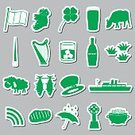 National Landmark,Flag,Hat,Country - Geographic Area,Cartography,Leaf,Religion,Europe,Ship,Steak,Travel,Computer Icon,Label,Cooking Pan,History,Rain,Cross,Republic of Ireland,Green Color,Ice,Grass,Sheep,Whiskey,Spire,Alcohol,Pub,Cow,Nautical Vessel,Beer - Alcohol,Sign,Symbol,Vector,Gold,Celtic,Meat,Umbrella,Rainbow