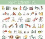 Business,Progress,Cooperation,Internet,Characters,Cute,Currency,Remote,Doodle,Report,Chart,Computer Graphic,Working,Businessman,Vector,Occupation,Illustration,One Person,earnings,Success,People,Infographic,Office,Symbol,Computer Icon,Communication,Note Pad,Silhouette,Collection,Teamwork,Real People,Making Money,Sign,Isolated,Finance
