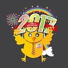 Humor,Creativity,Celebration,Computer Graphics,Joy,Symbol,Sign,Calendar,Chicken - Bird,Season,Decoration,Backgrounds,Computer Graphic,Cockerel,Cute,Illustration,Template,Vector,Rooster,Background,2017,Vacations,Greeting,Badge