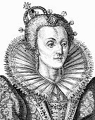 Queen,Elizabeth I Of England,Elizabethan Style,British Culture,Crown,One Person,Nobility,Engraved Image,England,Clothing,Ilustration,Women,Old-fashioned,Female,16th Century Style,Image Created 16th Century,Old,English Culture,Power,The Past,History,Collar,Fashion,British Empire,Femininity,Fine Art Portrait,European Culture,Black And White,Antique,UK,Social History,Government,Headwear,Period Costume,Concepts And Ideas,People,One Woman Only,Vertical,Character Traits,Head And Shoulders,Power,Northern Europe,Historical Clothing,Formalwear,Only Women,Royal Person