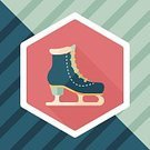 Elegance,Activity,Illustration,Sport,Hobbies,Winter,Winter Sport,Vector,Ice-skating,Ice,Dancing,Shoe,Shoelace,Ice Skate