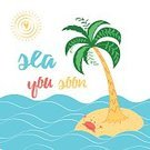 Pattern,Palm Tree,Nature,Love,Summer,Tree,Sea,Vacations,typographic,Leaf,Illustration,Animal,Vector,Relaxation,Backgrounds,Beach,Computer Graphic,Ornate,Decoration,Abstract