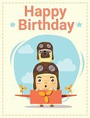 Birthday,Cheerful,Dog,Greeting Card,Postcard,Celebration,Decoration,Greeting,Pug,Multi Colored,Page,Book,Vector,Backgrounds,Banner,Humor,Sky,Happiness,Illustration,Toy,Pilot,Pets,Airplane,Boys,Invitation,Baby,Child,Puppy,Party - Social Event,template,Poster,Design,Placard,Web Page,Cute,Art,Cartoon