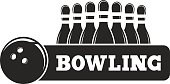 Bowling Game,black silhouette,Old Game,Black Shape,No People,Illustration,Leisure Games,Bowling Ball,Ten Pin Bowling,Sport,Pinball Machine,Vector,Black Color