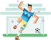 Sport,Ball,Design,Sports Training,Playing,Illustration,Cartoon,Goal,Vector,The Human Body,Backgrounds,Strength,Human Face,Camera Flash,Recreational Pursuit,Motion,Sports Uniform,Competition,Professional Sport,Soccer,Drawing - Art Product,Action,Championship,Athlete,Computer Graphic,Gate,Isolated,Males,Characters,Men,Caricature,Competitive Sport,Outdoors,European Culture,Jumping,Young Adult,Boys,Sports League,Activity,Sportsman,Flat