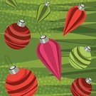 Christmas Ornament,Christmas,Christmas Decoration,Sphere,Holiday,Multi Colored,Decoration,Tree,Red,Green Color,Indoors,Cultures,Full Frame,Illustrations And Vector Art,Objects/Equipment,Shiny,Season,Holidays And Celebrations,Celebration Event,Christmas,No People,Medium Group of Objects,Group of Objects,Bright