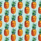 Concepts & Topics,Concepts,Food,Happiness,Freshness,Nature,Vacations,Cheerful,Colors,Multi Colored,Pattern,Modern,Tropical Climate,Fruit,Summer,Decoration,Backgrounds,Fun,Pineapple,Illustration,Vector,Fashion,Vibrant Color,Arts Culture and Entertainment,Seamless Pattern,