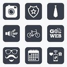 Transportation,Sport,Wheel,Cycling,Facial Mask - Beauty Product,Sign,Symbol,Calendar,Paying,Application Software,Shape,Label,Tie,Beard,Badge,Token,Vector,Wireless Technology,Pager,Mustache,Clothing,Clock Hand,Men,Bicycle,Eyeglasses,Camera - Photographic Equipment