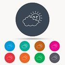 Overcast,cloudiness,Data,Meteorology,meteo,Weather,Circle,Vector,Season,Nature,Stratocumulus,Straight,Outline,Badge,Blue,Symbol,Sign,Day,Summer,Sunbeam,Cumulus Cloud