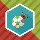 Playing,Sphere,Sport,Teamwork,Pattern,Single Object,Illustration,Vector,Kicking,Activity,Circle,Soccer