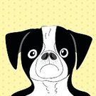 Power,Art,Backgrounds,Image,Muscular Build,Pug,Gray,Fun,Friendship,Dog,Isolated,Drawing - Activity,Canine,Mascot,Animal Hand,Sketch,Cute,Animal Head,frenchie,Fashion,Black Color,Animal,Vector,France,Puppy,Animal Ear,Human Face,Mammal,Illustration,Design Element,Symbol,Cartoon,Bulldog,Domestic Animals,Pets,Animal Eye,Strength,Short Hair,Computer Graphic,Greeting Card,Portrait,White