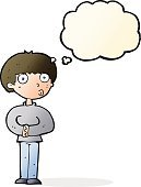 Cheerful,Drawing - Activity,Doodle,Bizarre,Clip Art,Illustration,Cute,Asking,Boys,Vector,freehand,Thought Bubble,Men